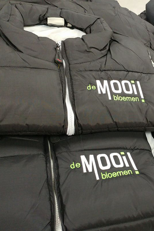 bodywarmer borduren